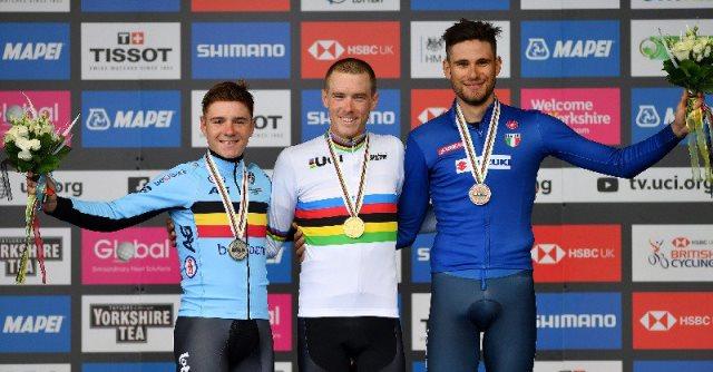 Филиппо Ганна – бронзовый призёр в разделке чемпионата мира по велоспорту-2019