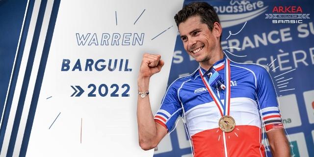Варран Баргиль продлил контракт с командой Arkea Samsic до 2022 года