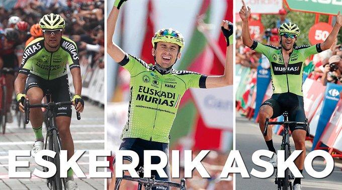 Велокоманда Euskadi Basque Country – Murias закрывается в конце 2019 года