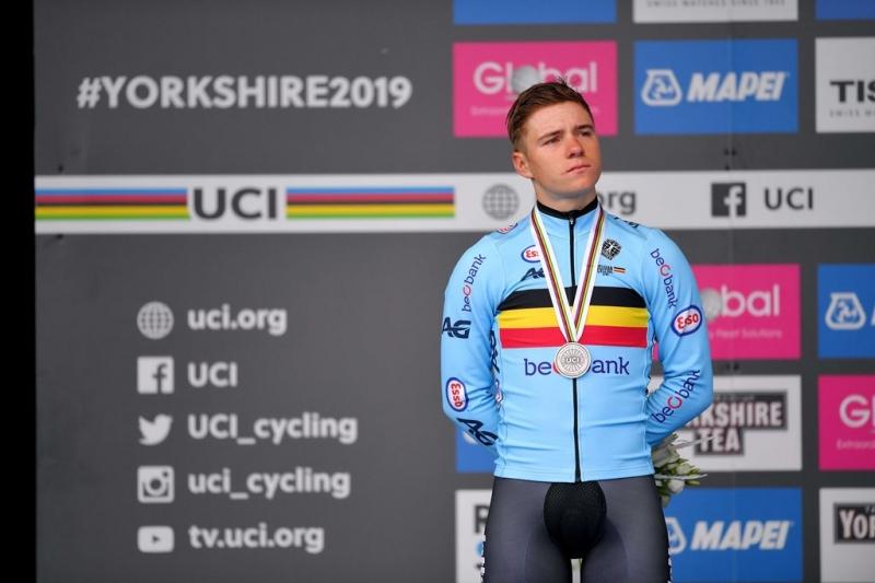 Ремко Эвенепул – серебряный призёр в индивидуальной гонке на время чемпионата мира по велоспорту-2019