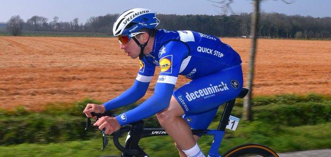 Альваро Ходж получил травмы при падении в финале Tour de l'Eurometropole-2019