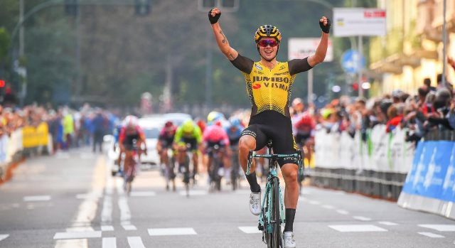 Примож Роглич – победитель Tre Valli Varesine-2019