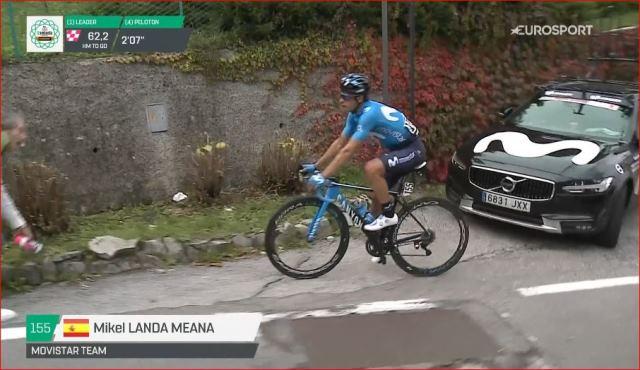 Микель Ланда завершил работу в команде Movistar