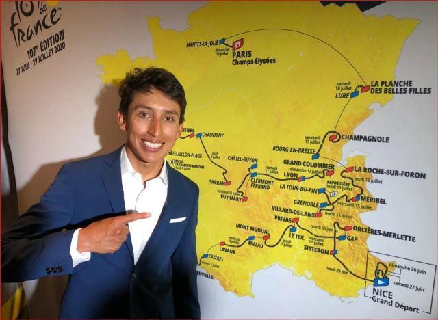 Колумбийские велогонщики надеются успеть приехать в Европу к Тур де Франс-2020