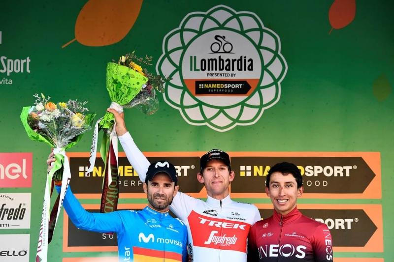 Эган Берналь – призёр классики Ломбардия-2019