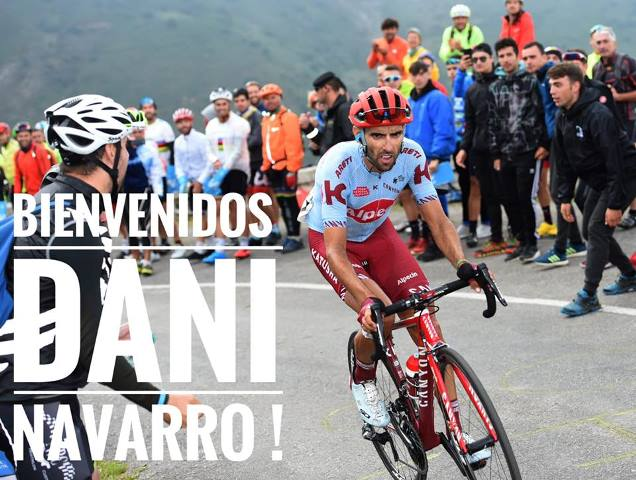 Велокоманда Israel Cycling Academy подписала контракт с Даниэлем Наварро и Йенте Бирмансом