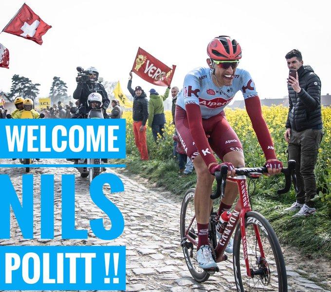 Нильс Политт подписал контракт с командой Israel Cycling Academy