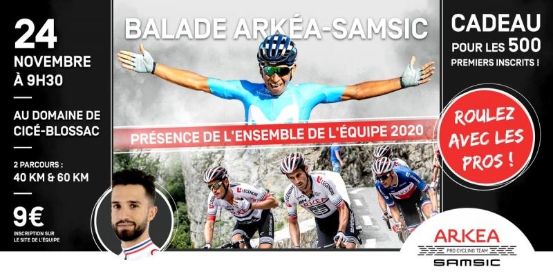 Команда Arkea-Samsic готовится к  сезону 2020 года