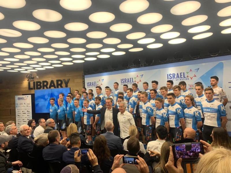 Состоялась презентация состава велокоманды Мирового тура Israel Start-Up Nation