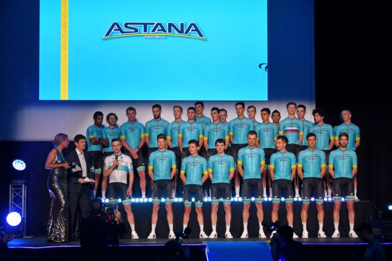 Команда «Астана Про Тим» представила свой состав 2020 года