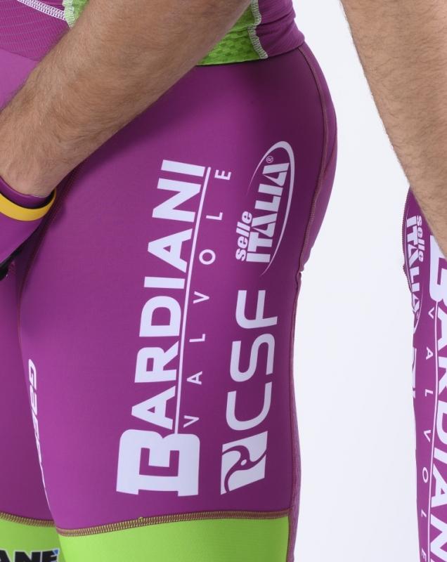 Команда  Bardiani CSF Faizane представила  велоформу и велосипеды на 2020 год