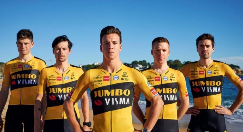Том Дюмулин, Примож Роглич и Стевен Крёйсвейк стартуют на Тур де Франс-2020