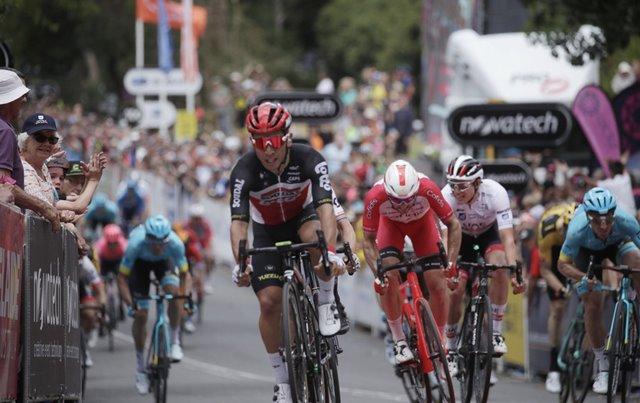 Калеб Юэн – победитель 2 этапа Тура Даун Андер-2020