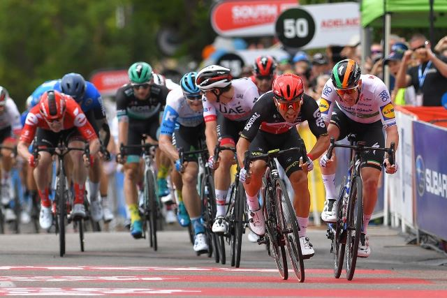 Калеб Юэн – победитель 4 этапа Тура Даун Андер-2020
