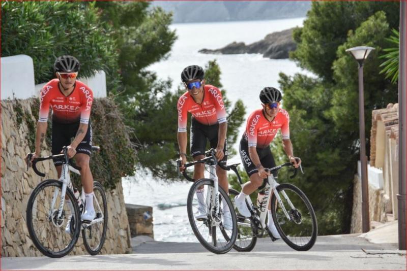 Команда Arkea-Samsic представила велоформу на 2020 год