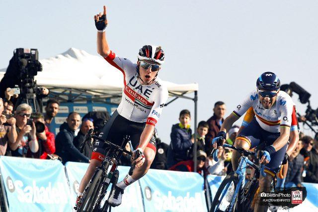 Тадей Погачар – победитель 2 этапа Вуэльты Валенсии-2020