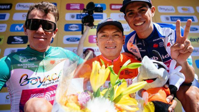 Команда EF Pro Cycling – победитель 1 этапа Тура Колумбии-2020