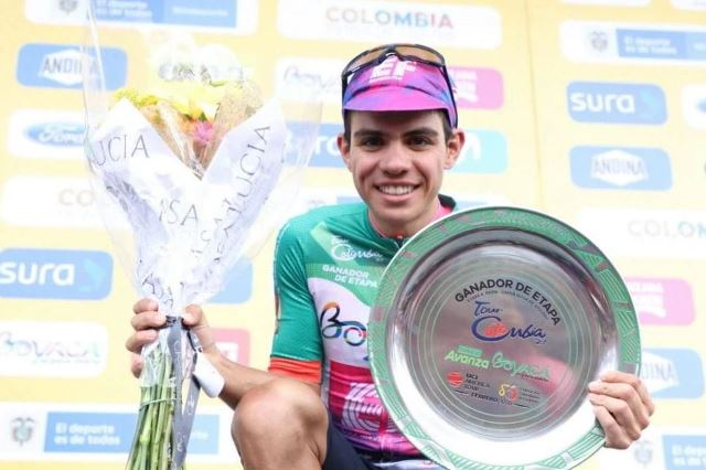 Серхио Игита – победитель 4 этапа Тура Колумбии-2020