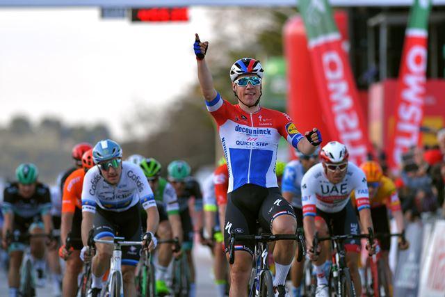 Фабио Якобсен – победитель 1 этапа Вольты Альгарве-2020