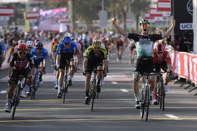 Паскаль Акерманн – победитель 1 этапа Тура ОАЭ-2020