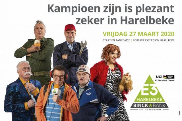 Грег Ван Авермат – один из героев постера велогонки E3 BinckBank Classic-2020