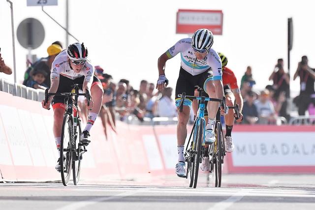 Тадей Погачар – победитель 5 этапа Тура ОАЭ-2020
