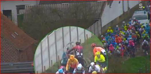 Йенс Дебюссере об инциденте с Джанни Москоном на гонке Kuurne-Brussel-Kuurne-2020