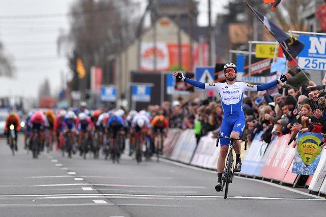 Каспер Асгрен – победитель Kuurne-Brussels-Kuurne-2020