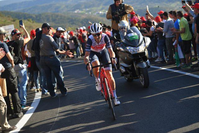 Винченцо Нибали стартует на гонке Париж-Ницца-2020