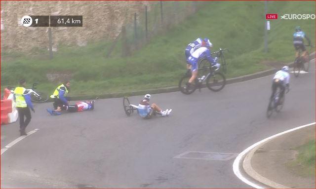 Варран Баргиль дисквалифицирован на 1-м этапе гонки Париж-Ницца-2020