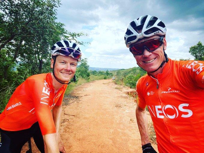 Крис Фрум и Дилан Ван Баарле завершили работу в тренировочном лагере в ЮАР