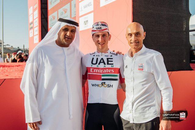 Тадей Погачар продлил контракт с командой UAE Team Emirates до конца 2024 года