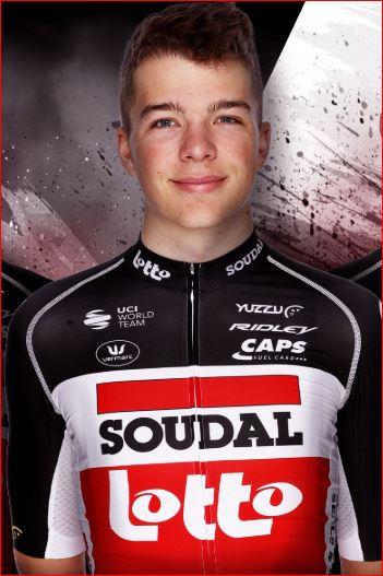 Флориан Вермеерс – новый велогонщик команды Lotto Soudal