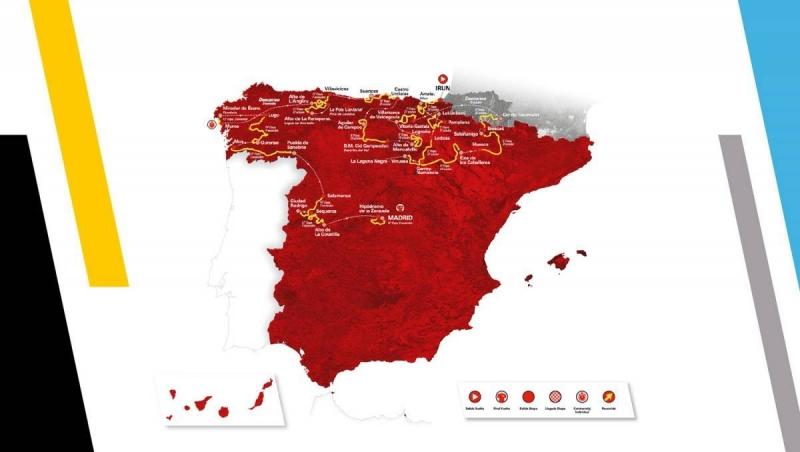 Объявлены маршруты 15 и 16 этапов, заменённых организаторами Вуэльты Испании-2020
