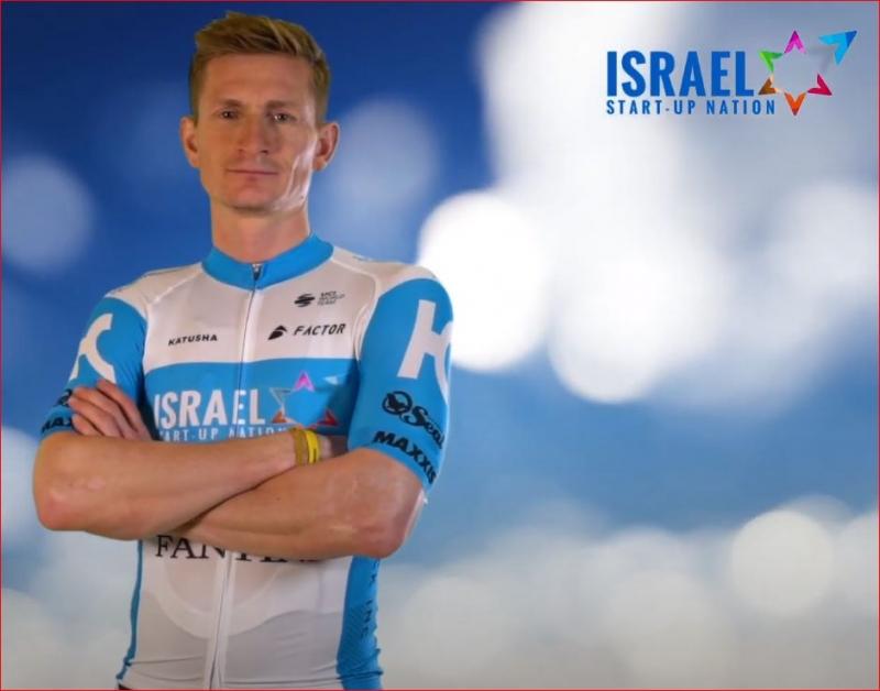 Андре Грайпель продлил контракт с велокомандой Israel Start-Up Nation на 2 года