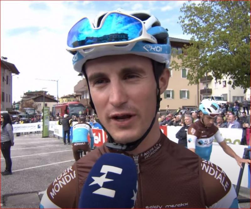 Алекси Вийермоз продлил контракт с велокомандой AG2R La Mondiale