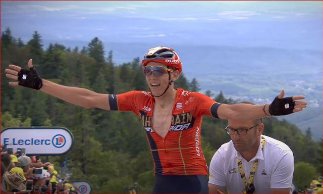 Дилан Тёнс о победе на этапе Тур де Франс-2019 и планах на будущее