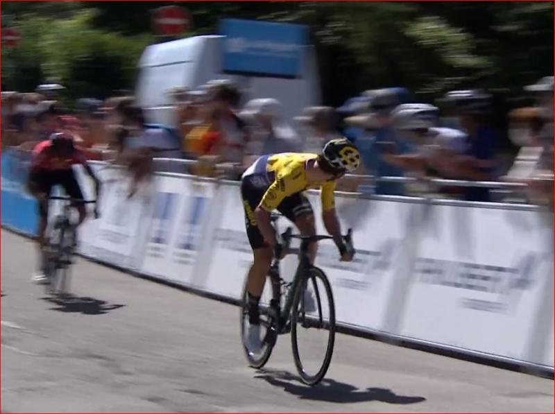 Примож Роглич и Эган Берналь о 2-м этапе Туре де л'Эн-2020