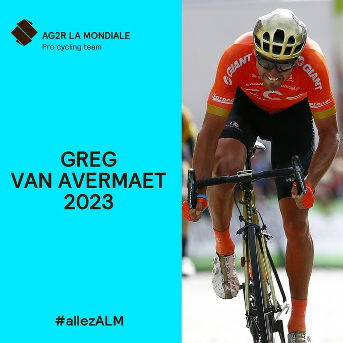 Грег Ван Авермат и Михаэль Шэр переходят в команду AG2R La Mondiale