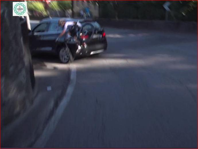 Максимилиан Шахманн финишировал 7-м на Ломбардии после столкновения с автомобилем