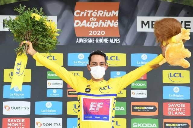 Даниэль Мартинес – победитель Критериума Дофине-2020