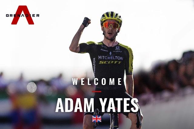 Адам Йейтс переходит в велокоманду INEOS Grenadiers