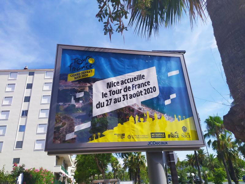 Жемчужина Лазурного берега и Французской Ривьеры город Ницца (Nice) принимает Тур де Франс (Tour de France)-2020