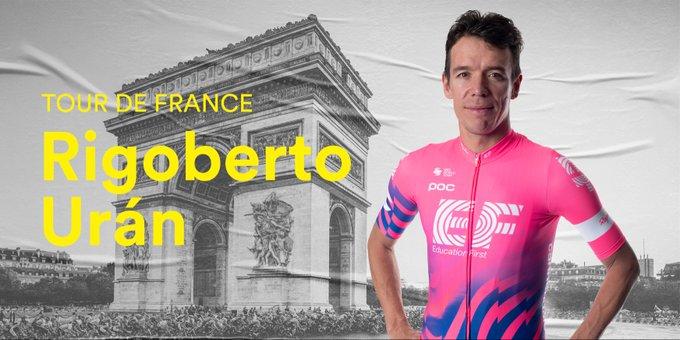 Состав команды EF Pro Cycling на Тур де Франс-2020