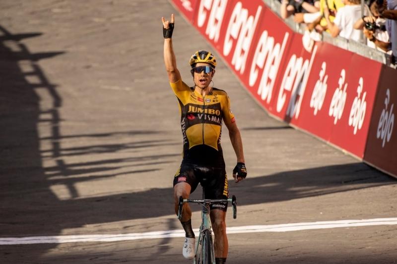 Ваут Ван Арт – победитель Страде Бьянке-2020