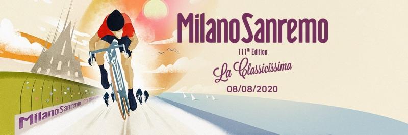 Милан-Сан-Ремо-2020. Маршрут