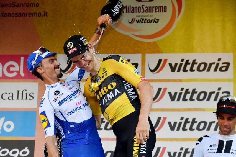 Ваут ван Арт готов к борьбе за победу на Милан-Сан-Ремо-2021