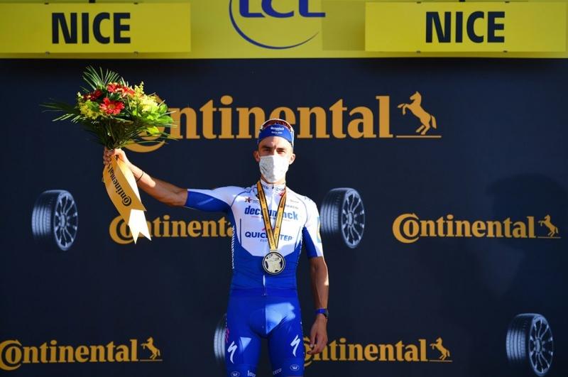 Жулиан Алафилипп одержал победу на 2-м этапе Тур де Франс-2020