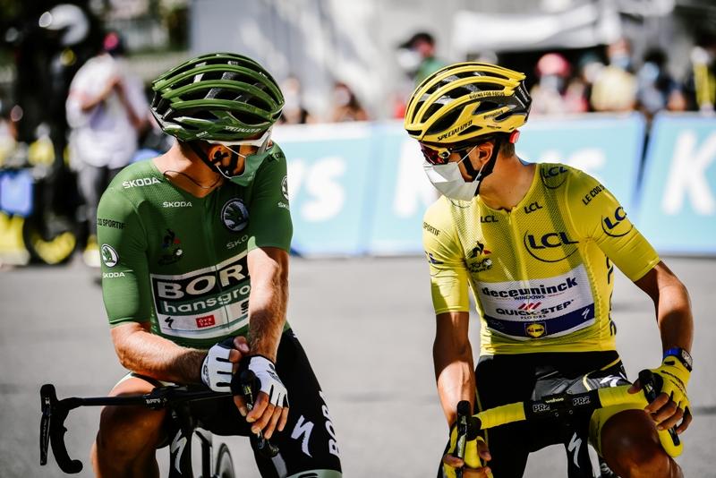 Примож Роглич, Тадей Погачар, Жулиан Алафилипп, Эган Берналь о 4-м этапе Тур де Франс-2020