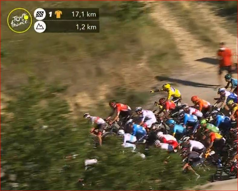 Жулиан Алафилипп потерял жёлтую майку лидера Тур де Франс-2020 после 5 этапа из-за штрафа